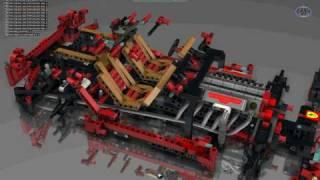 preview picture of video 'LEGO 8145 FERRARI F599 CATIA (1).avi'