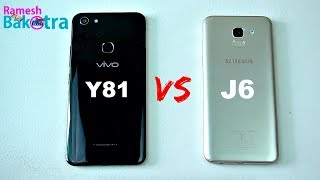 Vivo Y81 vs Samsung Galaxy J6 SpeedTest and Camera Comparison