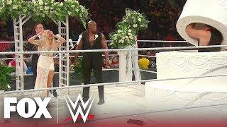 Lana & Bobby Lashley's wedding crashed by Rusev, Liv Morgan | MONDAY NIGHT RAW