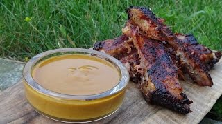 BBQ Sauce South Carolina Style  KuchniaKwasiora