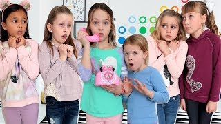 Friends Solve Clues in the Toy Master Escape Room