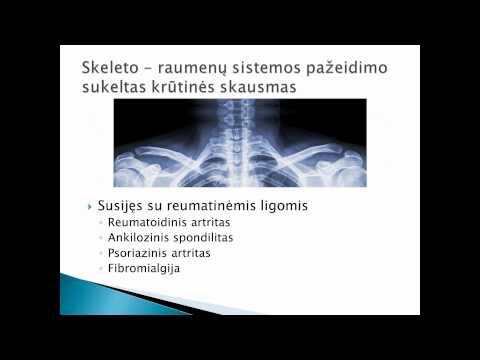 Kraujo spaudimas osteochondrozė