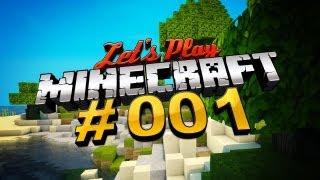 Let's Play Minecraft #001 [Deutsch] [full HD] - Pass bloß uff, ich hab ein Holzschwert