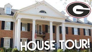 SORORITY HOUSE TOUR // Kappa Kappa Gamma at the University of Georgia | Lottie Smalley