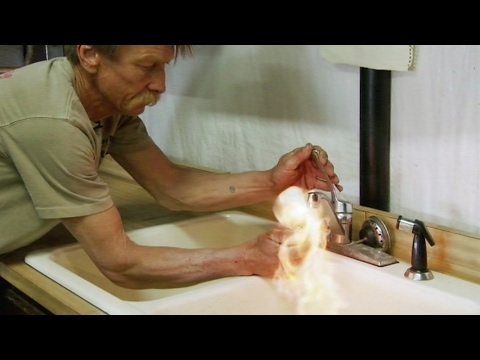 Brennende Wasserhähne: Wie gefährlich ist Fracking | Panorama | NDR
