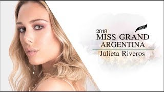 Julieta Riveros Miss Grand Argentina 2018 Introduction Video