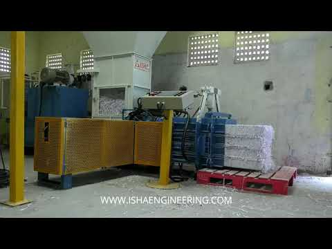 Automatic Paper Baling Press