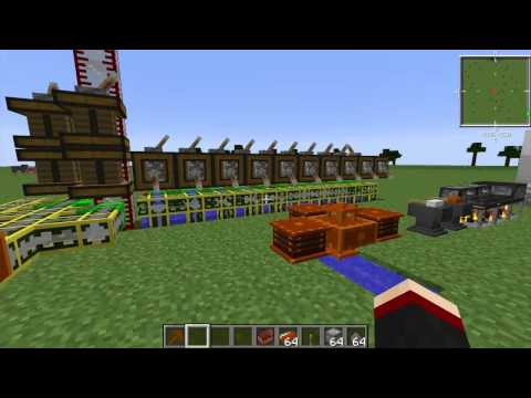 Minecraft 1.7.2 Advanced Utilities Mod First Look
