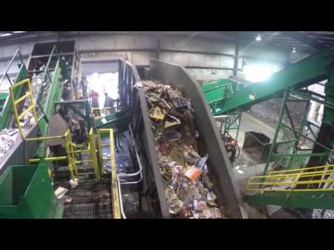 Progressive Waste Single Stream Recycling System Tampa FL