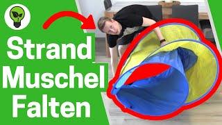 Strandmuschel Zusammenlegen ✅ ULTIMATIVE ANLEITUNG: Wie Pop Up & Wurf Strandzelt Zusammenfalten???
