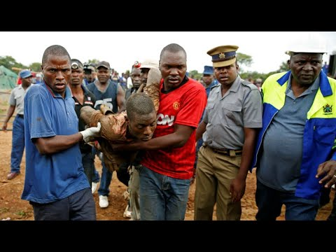 Several found alive days after Zimbabwe gold mine flood