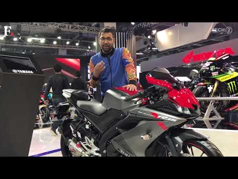 Yamaha R15 3.0 First Look | Auto Expo 2018