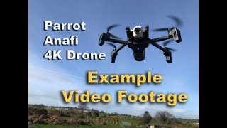 Photographers test of Parrot Anafi Footage