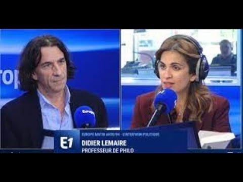"""Didier Lemaire, professeur à Trappes : """"Je suis une cible (...) De partout le danger peut surgir"""""""