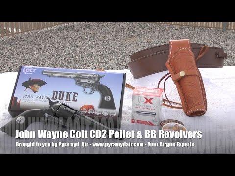 John Wayne Replica Pellet and BB revolvers
