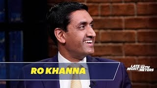 Rep. Ro Khanna Talks About the Impeachment Inquiry and Supporting Bernie Sanders