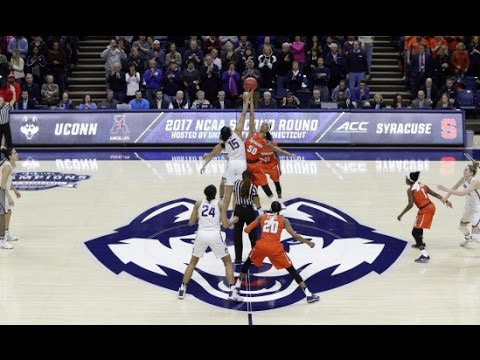 UConn Women's Basketball Highlights vs. Syracuse 03/20/2017 (NCAA Tournament Second Round)