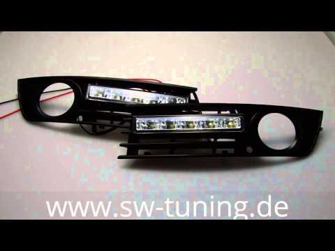 LED Tagfahrlicht für Audi A4 B6 8E 2001-2004 chrome SW-Tuning