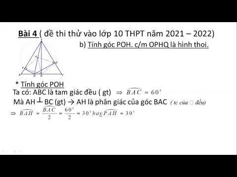Câu b bài 4 (hình) đề thi thử vào lớp 10 huyện Đông Hưng - Thái Bình năm học 2021 - 2022