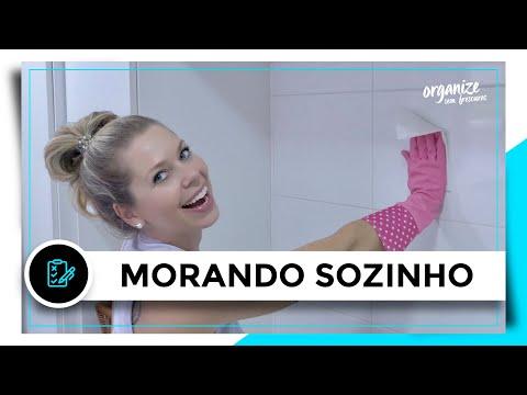 ROTINA DA CASA PRA QUEM MORA SOZINHO