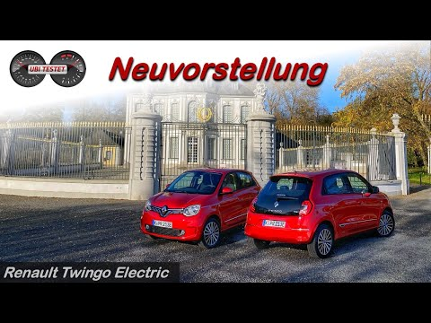 Renault Twingo Electric // Renault Twingo Z.E. - Wie fährt sich der Elektro-Kleinwagen?   Review