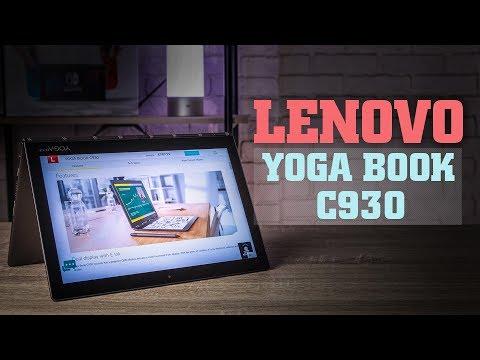 Обзор Lenovo Yoga Book C930 – два дисплея и никакой клавиатуры