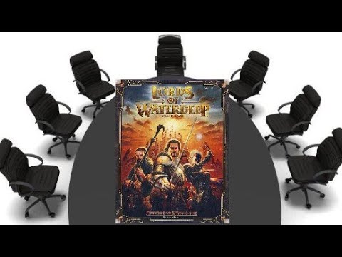 Lords of Waterdeep Review - Chairman of the Board