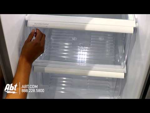 Whirlpool Side-By-Side Refrigerator WRS325FNAM Overview
