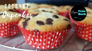 Membuat Coconut Cupcakes - Muffin