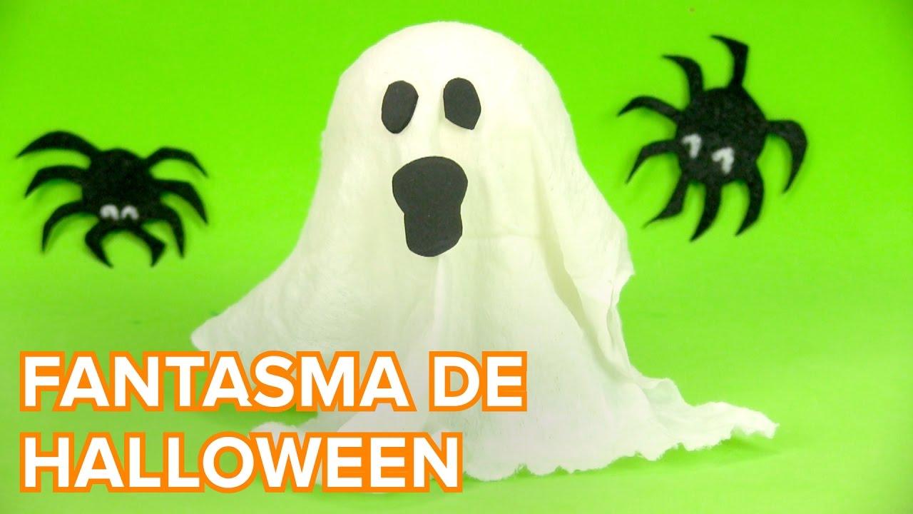 Fantasma de Halloween | Manualidades infantiles