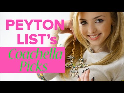 Shopping for Coachella fashion with Peyton List!