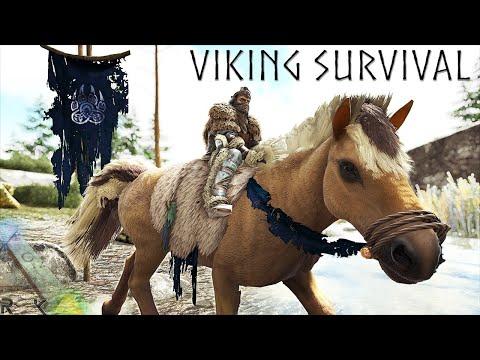 ARK VIKING SURVIVAL   ARK SURVIVAL EVOLVED EP1