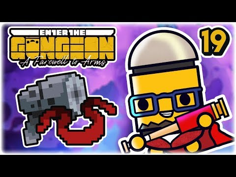 Bloodied Scarf & High Kaliber | Part 19 | Let's Play: Enter the Gungeon: Farewell to Arms | Gameplay