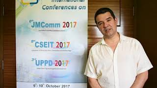 John Ramirez at CSEIT Conference 2017 by Global Science & Technology Forum