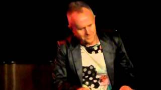 Howard Jones Don't Always Look At The Rain-Nov 2015 Hugh's Room Toronto