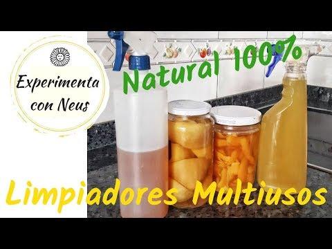 Limpiadores Multiusos y Desengrasantes Naturales. Zero Waste .DIY