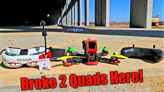 Brando Bashing 6s FPV Freestyle with Special Guest!