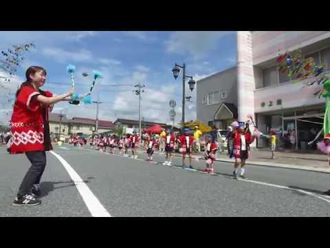第47回千厩夏まつり:清心幼稚園遊戯(2019.7.27)