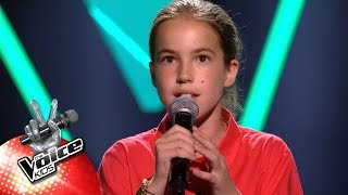 Elisabeth - 'call Out My Name'  Blind Auditons  The Voice Kids  Vtm