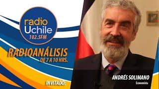 Andrés Solimano se refiere al cambio climático y su impacto en la economía