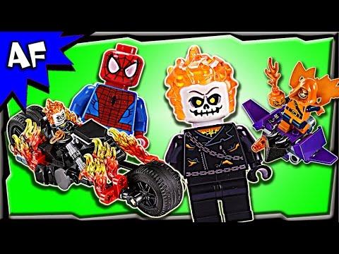 Vidéo LEGO Marvel 76058 : Spider-Man :  l'équipe de Ghost Rider