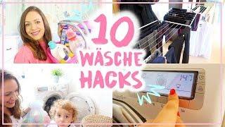 10 Wäsche Hacks, Tipps & meine Routine • Maria Castielle