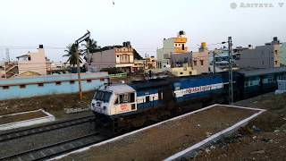 ALCo, EMD& Electric Actions | Trains conquering gradients of Bengaluru Mysuru Line | INDIAN RAILWAYS