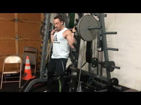 Smith machine squats proper form