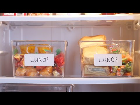 Hacks To Make Packing Your Morning Lunches Easier
