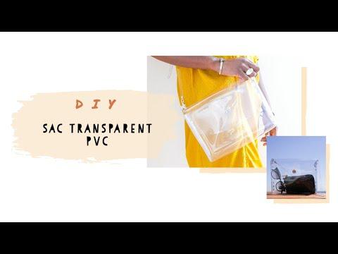 Sac transparent PVC