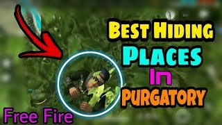 Best Hiding Place In Purgatory || New Elite Pass || Garena Free Fire