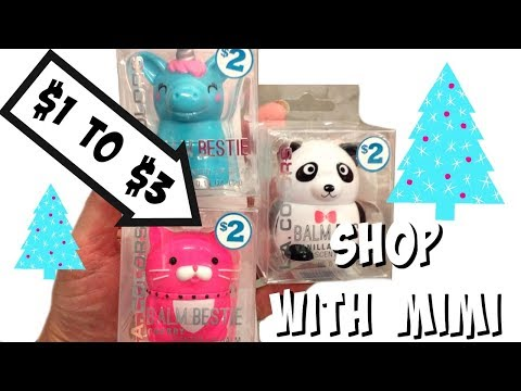 live family dollar shop with me 1 to 3 makeup stocking stuffers - Family Dollar Christmas Decorations