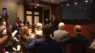 Sen. Cruz Addresses the Bryan/College Station and Waco Chambers of Commerce - May 8, 2018
