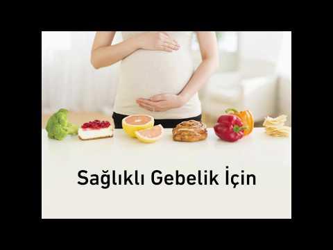 Sağlıklı gebelik için doğru beslenme